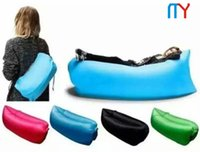 Wholesale MEYE Beach lay bag Hangout sleep Air Bed Lounger laybag Outdoor fast inflatable folding sleeping lazy bag