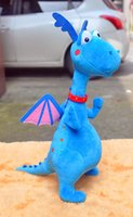 animal clinic - Retail Doc Mcstuffins Clinic Plush Toys Blue Dragon Soft Stuffed Animal Dolls Baby Toys Gifts for Children CM