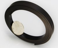 Wholesale Sell in meters roll rubber magnet size mm width mm Thickness rubber magnet strip soft magnet strps