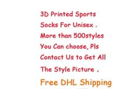 Wholesale Factory Direct D Number Printing Comfortable Hair Circle Motion Skate Customized Polyester fiber Di Guan Socks
