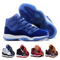 authentic designer shoes - 2017 Retro Basketball Shoes Mens Bred Citrus Concord Bred Georgetown GS Sneakers Designer Low Retro XI s For Men Real Authentic Quality