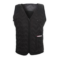 bank vest - Electric Heated Vest Size Adjustable From S To XL mA V Power Bank Included