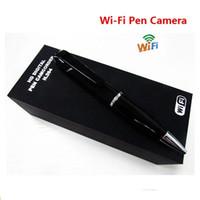 WIFI Caméra IP DVR HD 720P Sans fil Moniteur à distance Cam Spy Pen caméra Sécurité Mini caméscope Video caché pour IOS Android