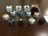 Wholesale Fedex DHL Free New Fidget cube the world s first American decompression Anti anxiety Greative Toys Christmas gift Z607 B