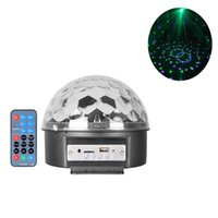 active speaker remote control - LED Disco Ball Stage lighting with bluetooth Speaker Auto Voice Activated function MP3 player Remote control
