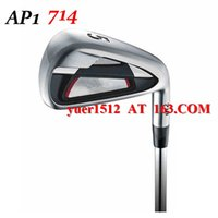 Wholesale Golf AP1 Irons Set P With Golf Aldila VS Proto T Graphite Shaft or Steel Shaft AP1 Clubs