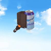 Wholesale Mini Portable DC V Degree Rotatable Car Refrigerators Rapid Cooling For Cans Drink Cigarette Lighter Plug