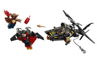 attack helicopters - 10226 Super Hero series Batman attack helicopter puzzle man toy