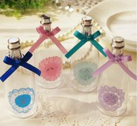 Wedding baby shower fillable - New Hot Sale x Fillable Champagne Bottles Wedding Party Decorations Baby Shower Event Favors Gifts