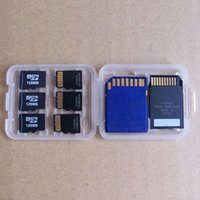 Wholesale New Hot Slots Protecter Box Storage Case Holder For Micro SD TF SDHC MSPD Memory Card