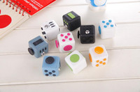 Wholesale New fidget Cube A Vinyl Desk Toy anti irritability to ease the pressure to focus dice cube box for girl boys Christmas gift