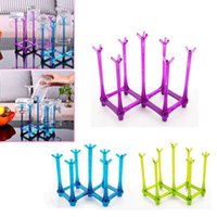 Wholesale 1Pc Foldable Holder Storage Drying Rack Tea Coffee Cup Stand Shelf DIY Kitchen Tools
