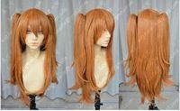 asuka langley cosplay - gt gt gt new vogue Hot Sell EVA Asuka Soryu Asuka Langley Orange Clip Ponytail Cosplay Wig Hair