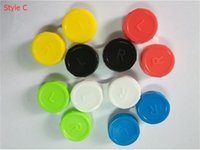 Wholesale Contact Lens Case Colorful Plastic Contact Lens Container ECO PP Lens Soaking Storage Cases