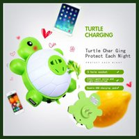 baby chargers - Baby Turtle LED Night Light with Sensor and Dual USB Wall Charger for Bedroom Warm Light for Hallway Bathroom bedroom Living Room