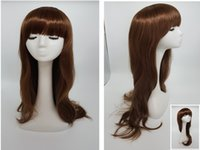Wholesale New color Long Natural wave hair the new product Like human hair wigs hair fashion hot sale