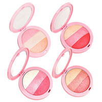 Wholesale High Quality Colors By Nanda Baked Blush Palette Blusher Soft Natural Flushed Face Mineralize Pressed Powder Cheek Color