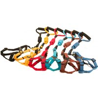 Wholesale Dog Collar Leashes Harness Adjustable Durable Leashes Set Heavy Duty Nylon Dog Lead Collar for Dog Perfect for Daily Training Walking