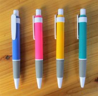 Wholesale Accept custom Logo small order Promotional plastic ballpoint pen for stationery gifts