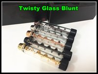 Wholesale Newset Twisty Glass Blunt rd edition Dry herb Pipe grinder Filter System More Accessories herbal Twist me cigarettes vapor dabber bongs