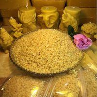 100g beeswax pellets - Organic Natural Pure Yellow Beeswax Pellets Honey Cosmetic Grade
