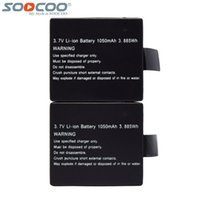 Wholesale Set Original SOOCOO mAh V Rechargeable Li on Batteries for C10S C30 SJ CAM SJ5000 Wifi K Sport Action Camera