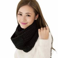 amazing knitted - Amazing Brand New Fashion Solid Color Women Winter Scarves Warm Circle Knitted Ring Scarf Shawl Neck Warmer