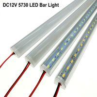 Wholesale newest DC V cm Wall Corner LED Bar Light led strip High Brightness smd desk table light Rigid LED Strips lighting