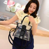 Wholesale Transparent Women Party Messenger Bag Clear Color Clutch Bag Shoulder Bag For Woman Summer Promotion G0349