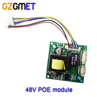 Wholesale 48V To V A Security pcb CCTV Network IP Cameras Power Ethernet output IEEE802 af compliant PoE Module board