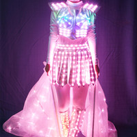 Wholesale YB132 Fancy Butterfly Opening High Quality Performance Isis Fairy Wings led costume Colorful Shining Isis Wings Belly Luminous Led Stage