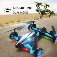 Wholesale Original JJRC H23 G CH Axis Gyro Air Ground Flying Car RC Drone RTF Quadcopter with D Flip One key Return Headless Mode