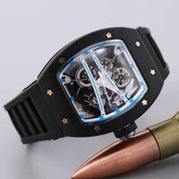 Wholesale Casual Fashion Skeleton Watches men women Luxury brand Army Skull sport quartz watch
