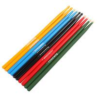 Wholesale 1 Pair cm Maple Wood Drum Sticks Stick A Drums Music Band Drumsticks Optional Colors MIA_653