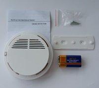 Sistema de Detector de Humo de 10psc con Batería de 9V <b>Sensor</b> de Alarma de Incendio estable de Alta Sensibilidad Adecuado para Detectar Seguridad en el Hogar