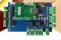 Wholesale FreeShipping TCP IP two door access control board door access control panel
