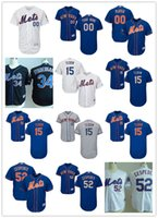 Wholesale 30 Teams Men s MLB New York Mets Tim Tebow Yoenis Cespedes Majestic Flexbase Authentic Collection Custom Jersey Stitched