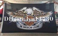 al por mayor 3 banderas 'x 5'-Harley Davidson Bandera de 3 pies x 5 pies de poliéster Banner volar tamaño