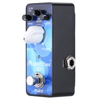 Wholesale High Quality Mighty Sound M3 Mini Classic Buzz Fuzz Pedal Electric Guitar Effect Pedal True Bypas with LED indicator