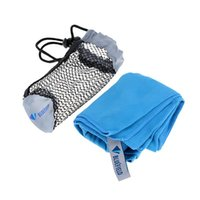Wholesale Microfiber Antibacterial Ultralight Compact Quick Drying Towel with Bag Camping Hiking Travel Kits