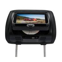 Precio de Consola gris-Cd del vídeo del lcd DVD del coche del apoyo para la cabeza de 7 pulgadas
