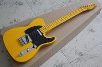 american standard telecaster - Factory Custom High Quality Custom Yellow TL telecaster Electric Guitar American Standard Guitar in stock