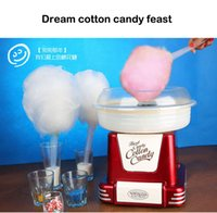 Wholesale Nostalgia Full automatic household electric child cotton candy machine