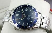 Wholesale 2016 Luxury Mens Professional m James Bond Blue Dial Sapphire Automatic Watch Men s Watches