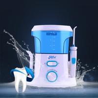 Wholesale New Dental Floss Water Oral Flosser Home Pack Dental Irrigator Oral Teeth Cleaning Water Tips ml Water Tank Teeth Water Pick