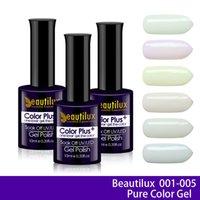 Wholesale 12pcs Pure Color ml High Quality Gel Nail Polish Soak Off LED UV Polish Lacquer Long Lasting For Salon