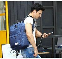Wholesale USB charge backpacks school bags for teenage boys girls college travel bag hiking backpack men women sport bags laptop