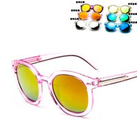 Fashion Girls UV400 2016 new fashion childrens sunglasses kids girls summer glasses baby Accessories colors mixed baby toys