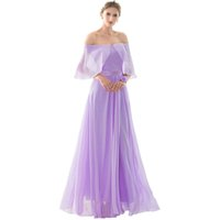 Cheap A-Line Chiffon cheap bridesmaid dresses robe de soiree Empire 2017 Draped Prom Wedding party Dresses bridesmaid dress under 50 Fast Delivery