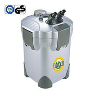 aquarium uv canister filter - 20W L H Aquarium Fish Tank Stage External Canister Filter W UV Steriliser Light FILTER Filtration Media EFU AC220 V